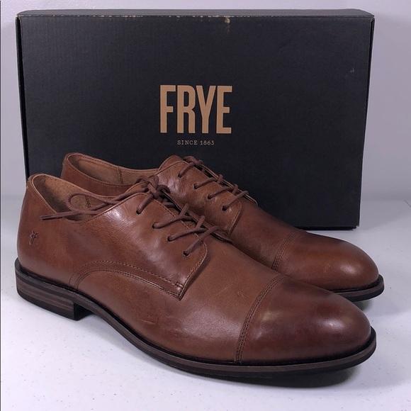 Frye Scott Cap Toe Oxford Dress Shoes